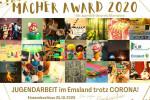 Macher Award 2020 – Jugendförderpreis Alternative