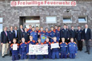 Die Jugendfeuerwehr Messingen ist eine starke Truppe. Zusammen mit ihren Betreuern bewegen sie viel in ihrer Gemeinde und darüber hinaus.